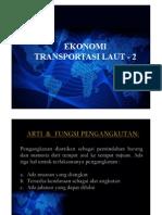 Ekonomi Transport Laut 2 (R)