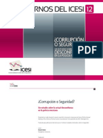 ¿Corrupción o Seguridad? Un estudio sobre la actual desconfianza en la policía mexicana