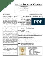 Bulletin Feb 26 2012