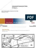 Route Planning and Environmental Assessment Study