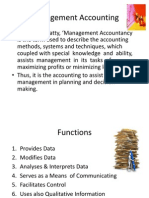 Management Accounting Concept