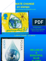 Climate Change on Stamps Giannopoulos