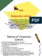 Nature of Corporate Culture