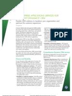 HP Enterprise Applications Services for CRM
