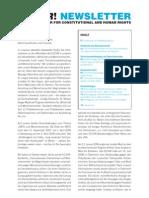 ECCHR Newsletter 05 2009 DEU