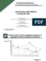 The Greek Economy under Reform