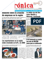 Cronica 23 de noviembre 2008