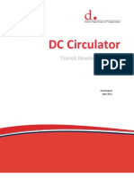 DC Circulator Transit Development Plan - Final Report - April 2011