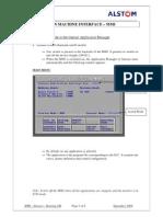 8. Man Machine Interface - Procedure