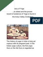 Evolution of Yoga