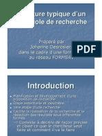 Structure Protocole