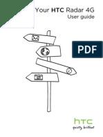 T-Mobile HTC Radar Manual