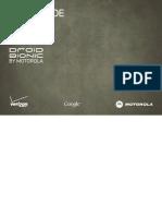Verizon Wireless Droid Bionic by Motorola Manual