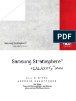 Verizon Wireless Samsung Stratosphere Manual