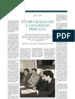 Entrevista de Sinesio Lopez a Julio Cotler