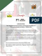 Convocatoria 3er Curso Fiedesc 2012