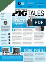 Winter 2012 Pig Tales Newsletter
