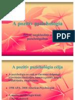 A Pozitiv Pszichologia