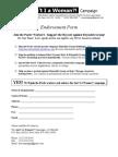 Pactiv-AIW Endorsement Form (Final) 2-22-12[1]