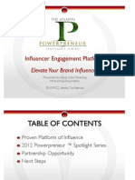 VSMCG Powerpreneur Sponsorship Deck - 2012