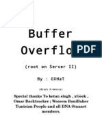 Buffer Overflow (Root on Server II)