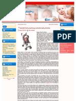 Kolcraft Ibaby Reclining Umbrella Baby Stroller