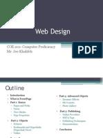 Lecture 7-Web Design-Joe Khalifeh