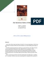(eBook) Custance, Arthur, Ph.D. - The Mysterious Matter of Mind (Mind-Brain Problem) Psychology, Neurology) (Christian Library)