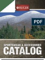 Ruger Sportswear & Accessories 2012