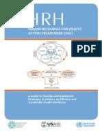HRM Health Action Framework 7-28-10 Web