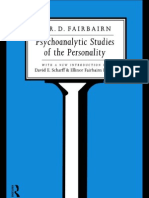 W.R.D. Fairbairn - Psychoanalytic Studies of the Personality