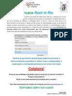 Informação Gincana Rock in Rio