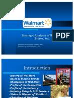 Wal-Mart Strategic Analysis- Kevin Go