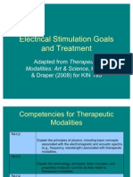 Electrical Stimulation Goals and Treatment