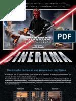 Star Wars Episodio I La Amenaza Fantasma 3D - Especial Cinerama Actualizado