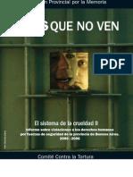 2 INFORME SOBRE CÁRCELES 2005 Ojos que no ven - El sistema de la crueldad II -
