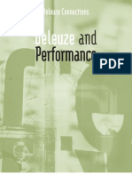 Deleuze and Performance