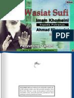 Wasiat Sufi Imam Sayyid Ruhullah Khomeini 3