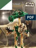 LEGO Pit Droid Instruction Manual 8000