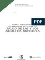 Normas y Protocolos de AtenCion de Los Adultos Mayores 1