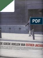 De Goede Doelen Van Esther Jacobs
