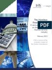 Hamilton Financial Index