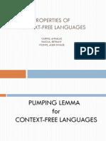 2 - Properties of CFL