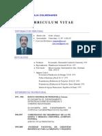 Curriculum Vitae Ec. Juan Plaja