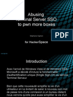 Abusing Terminal Server SSO to pwn more boxes