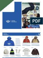 Catálogo Adidas Originals (diseño de estudiante)