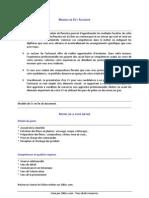 100CVmodele Conseils Artisanat Fleuriste
