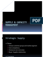 7 Supply& Capacity Management -1