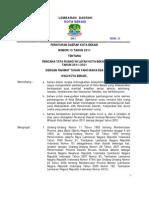 PERDA Kota Bekasi Nomor 13 Tahun 2011
