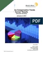 2012 Sales Compensation Trends Exec Summary Final Version